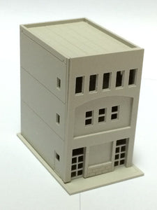 Modern 3-Story Building / Shop B Unpainted N Scale 1:160 Outland Models Railway