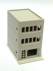 Modern 3-Story Building / Shop C Unpainted N Scale 1:160 Outland Models Railway