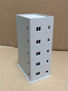 Modern Building 5-Story Apartment Unpainted N Scale 1:160 Outland Models Railway