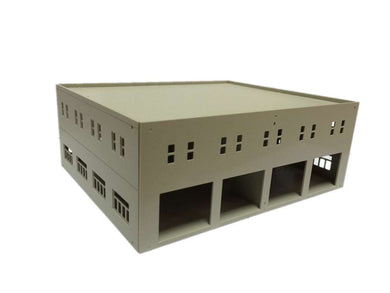 Garage / Logistics Centre Unpainted HO OO Scale Outland Models Train Railway