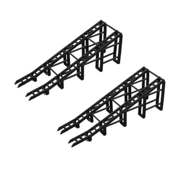 Car Display Ramp 2 pcs 1:87 HO Scale