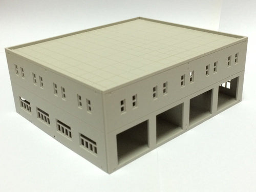 Modern Garage / Logistics Centre Unpainted N Scale Outland Models Train Railway