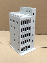 Load image into Gallery viewer, Modern 5-Story Commercial Building Unpainted N Scale Outland Models Railway