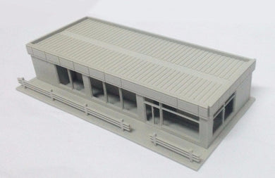Modern City Roadside Convenience Store N Scale Outland Models Railway