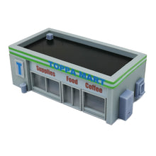 Load image into Gallery viewer, Convenience Store & Accessories 1:87 HO Scale