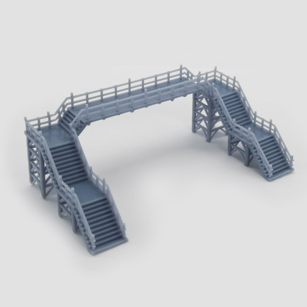 Overhead Footbridge 1:220 Z Scale Outland Models Railway Scenery