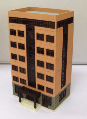 Colored Modern City Building Grand Apartment N Scale Outland Models Railway