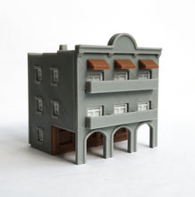 Load image into Gallery viewer, City Classic 3-Story Arcade Building Z Scale 1:220 Outland Models Train Layout