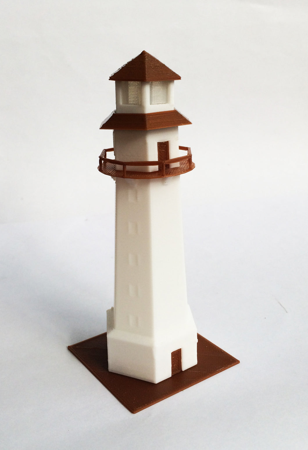 Building Country Lighthouse Z Scale 1:220 Outland Models Train Railway Scenery