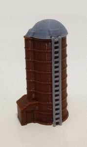 Country Farm Grain Silo Z Scale 1:220 Outland Models Train Railway Layout