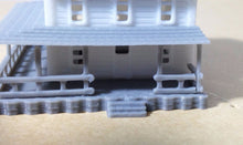 Load image into Gallery viewer, Country 2-Story House White Z Scale 1:220 Outland Models Train Railway Layout