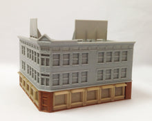Load image into Gallery viewer, City Classic Corner Shop (Long) Z Scale Outland Models Train Railway Layout