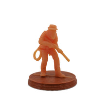 将图片加载到图库查看器,Bloody West Series Cowboy Figure w Cards 28mm Scale