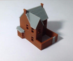 Victorian City Building Small Pub Z Scale Outland Models Train Railway Layout Victorian