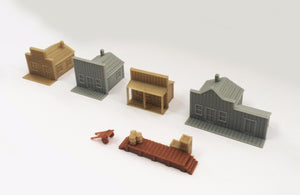 Old West Small House Set N Scale 1:160 Outland Models Train Railway Layout