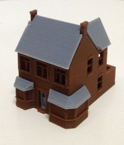 Victorian Building Tavern / Pub N Scale Outland Models Train Railway Layout