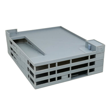 4-Story Car Parking Building 1:220 Z Scale