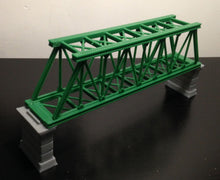 将图片加载到图库查看器,Truss Bridge  with Piers Z Scale Outland Models Train Railroad