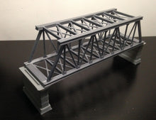 Load image into Gallery viewer, Truss Bridge  with Piers Z Scale Outland Models Train Railroad