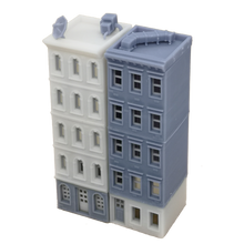 Load image into Gallery viewer, Downtown Apartment Set White Grey Z Scale 1:220