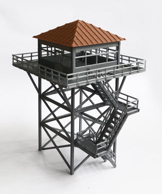 Watchtower / Lookout Tower OO HO Scale Outland Models Railway Scenery Miniature