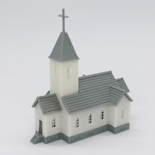 Load image into Gallery viewer, Country Church 1:160 N Scale Outland Models Railroad Scenery