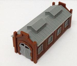Locomotive Shed / Engine House (1-Stall) Z Scale Outland Models Train Railway