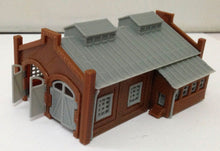 Load image into Gallery viewer, Locomotie Shed / Engine House (2-Stall) Z Scale Outland Models Train Railway