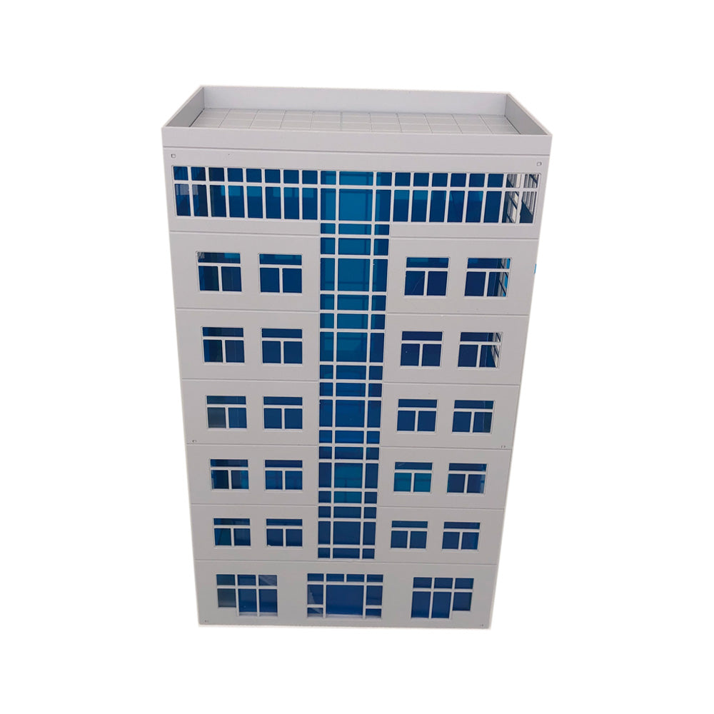 Modern Office Building for Diorama 1:64