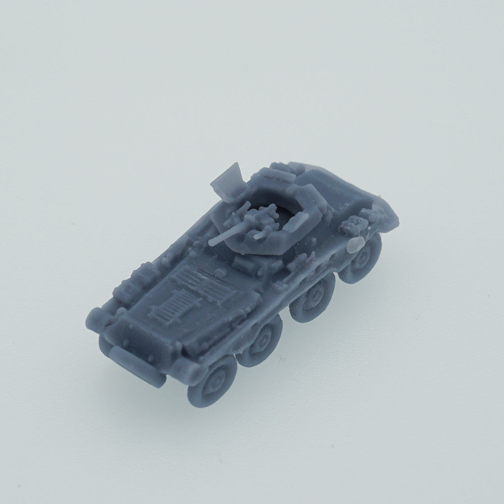 Outland Models WWII Germany Armor Vehicle Sd.Kfz. 8 Rad w 2 Turrets Scale 1:144