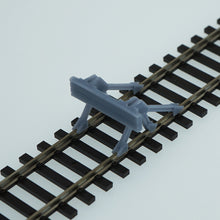 Load image into Gallery viewer, Outland Models Model Railroad Track Buffer / Stop 4 pcs HO Scale 1:87