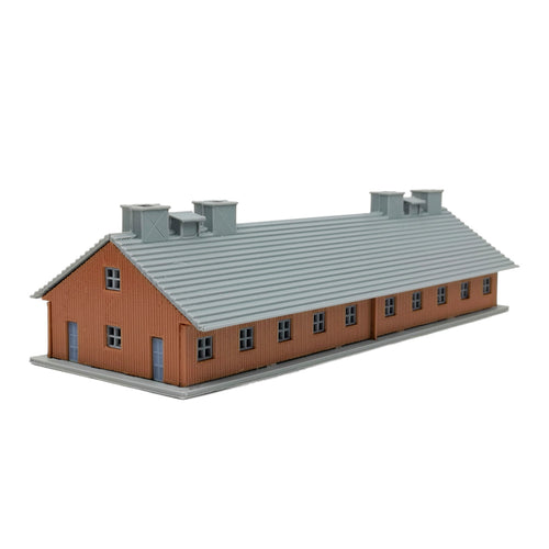 Military Barrack 230mm long N Scale 1:160