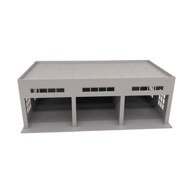 3-Stall Large Garage for Trucks / Cars 1:64