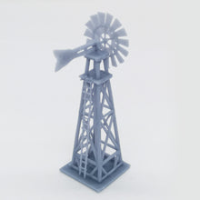 Load image into Gallery viewer, Western Country Accessory Set Windmill, Water Tower, Shed...1:220 Z Scale Outland Models Railway Scenery