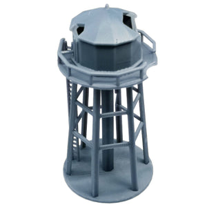 Damaged Water Tower 1:160 N Scale