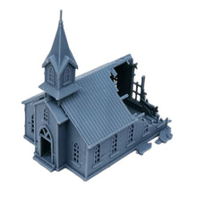 Charger l'image dans la galerie, Damaged Church 1:160 N Scale