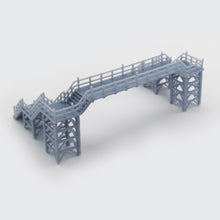 Load image into Gallery viewer, Overhead Footbridge 1:220 Z Scale Outland Models Railway Scenery