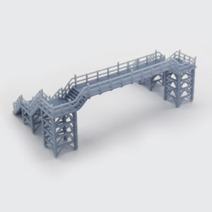 Overhead Footbridge 1:160 N Scale Outland Models Railway Scenery