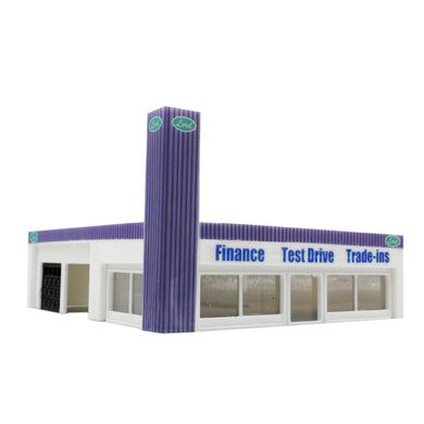 Car Dealership Building 1:64