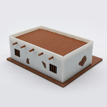 Load image into Gallery viewer, Old West Jail 1:87 HO Scale Outland Models Scenery Building