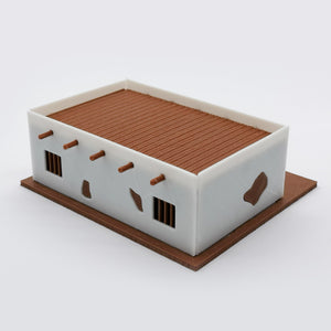 Old West Jail 1:87 HO Scale Outland Models Scenery Building