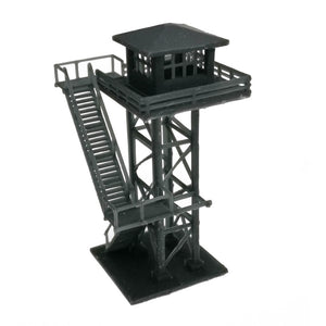 Large Watchtower Grey/Black N Scale 1:160