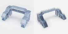 Load image into Gallery viewer, Overhead Footbridge 1:160 N Scale Outland Models Railway Scenery
