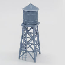 Load image into Gallery viewer, Western Country Accessory Small Water Tower 1:87 HO Scale Outland Models Railway Scenery
