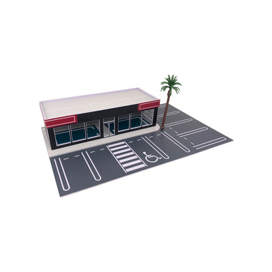 Car Dealership / Car Display Showroom 1:64
