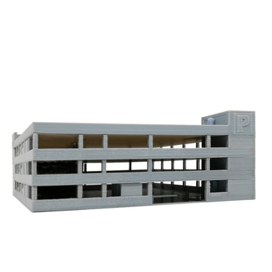4-Story Car Parking Building 1:87 HO Scale