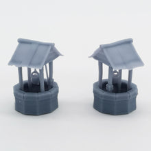 Load image into Gallery viewer, Western Country Accessory Well 2 pcs 1:87 HO Scale Outland Models Railway Scenery