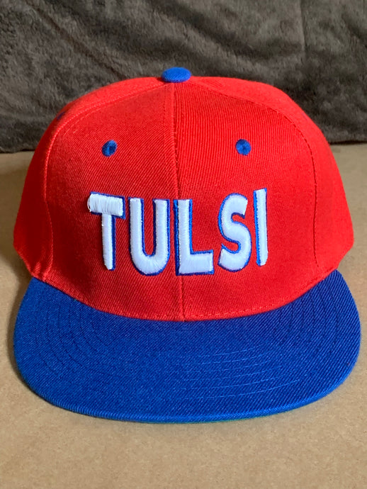 Tulsi Herb Hat - Red/Blue