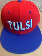 Load image into Gallery viewer, Tulsi Herb Hat - Red/Blue
