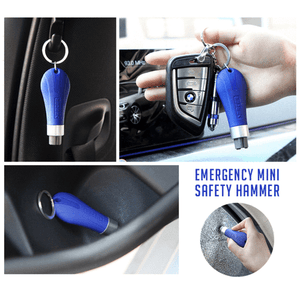 Emergency Mini Safety Hammer Keychain